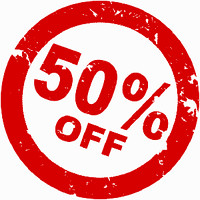 50 % OFF PHOTO BOOTH