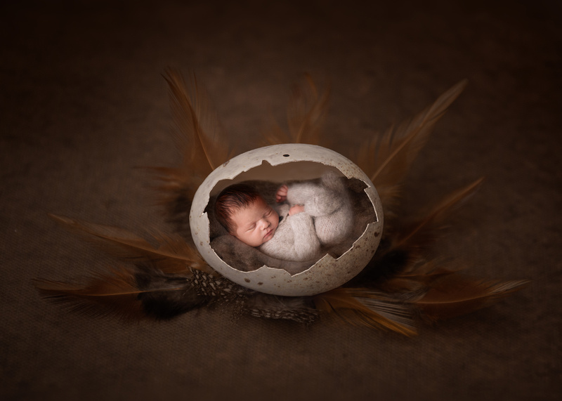 Easter Egg Newborn Photography
