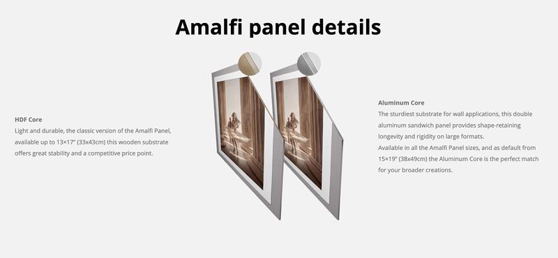AMALFI PANEL details