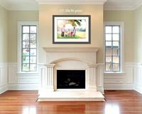 fireplace frames