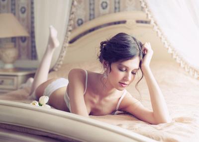 bride boudoir