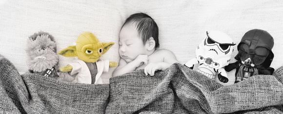 Star Wars Newborn photography