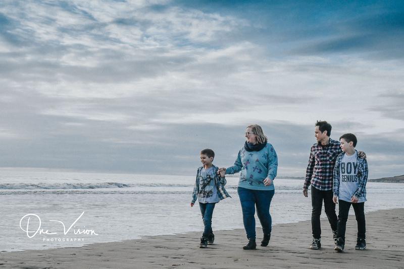 Family portrait photo shoot