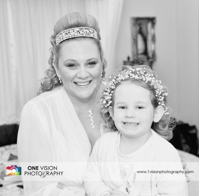 Bride and Flower Girl Bridgend